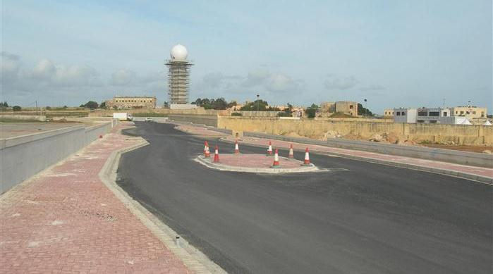 Hal Far Project - Final Road Works in Zone A
